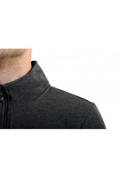 "Emporio Armani EA7 ""Train Big"" Men's Gray Fleece Full Zip Track Jacket: Picture 2"