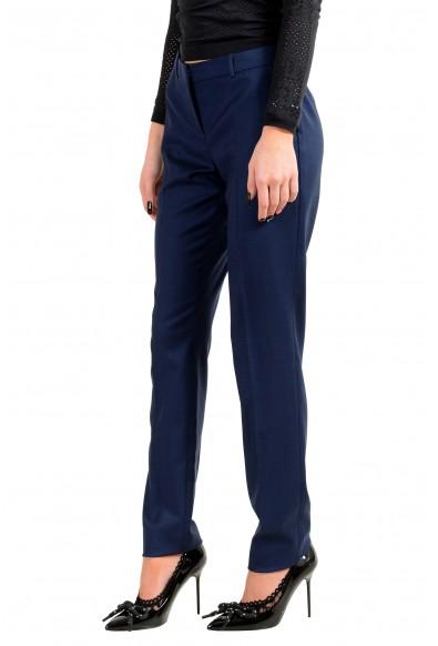 """Hugo Boss Women's """"Tilunana2"""" Blue Wool Dress Pants : Picture 2"""