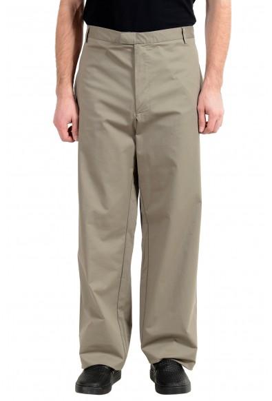Exte Men's Gray Stretch Casual Pants