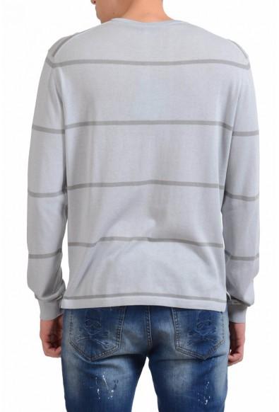 Malo Men's Crewneck Striped Light Sweater: Picture 2
