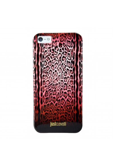 """Just Cavalli Multi-Color """"Leopard"""" Anti-Shock Cover For IPhone 5/5S"""