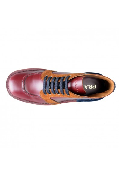 Prada Men's Multi-Color Suede Leather Ankle Boots Shoes: Picture 2