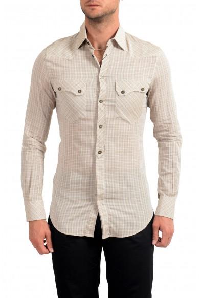 Dolce&Gabbana D&G Men's Long Sleeve Dress Shirt