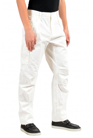 Dolce & Gabbana Men's White Cargo Casual Pants: Picture 2