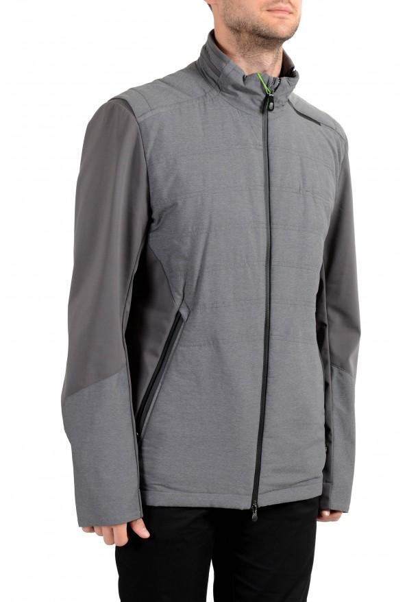 """Hugo Boss """"Jamick Pro"""" Men's Gray Zip Windbreaker Jacket: Picture 2"""