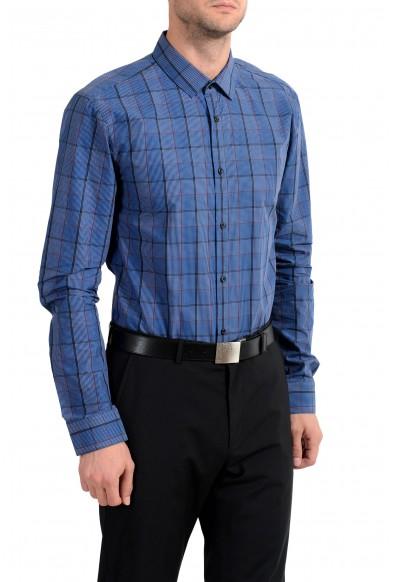 "Hugo Boss ""EagelX"" Men's Plaid Slim Fit Long Sleeve Dress Shirt: Picture 2"