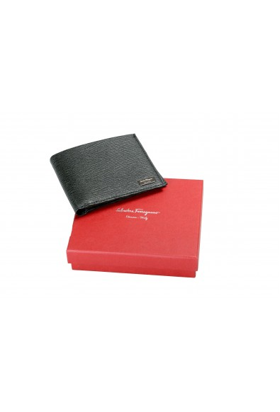 Salvatore Ferragamo Men's 100% Textured Leather Green Bifold Wallet: Picture 2
