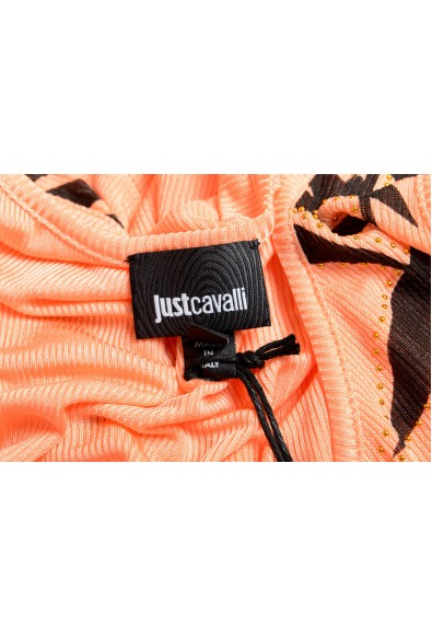 Just Cavalli Women's Multi-Color Embellished Blouse Tank Top : Picture 2
