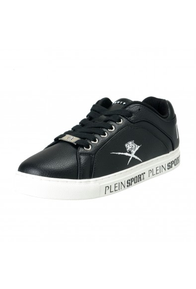 "Plein Sport ""Julian"" Black Fashion Sneakers Shoes"