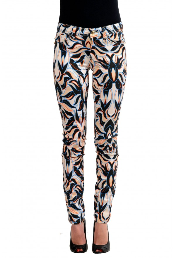 "Just Cavalli ""Luxury"" Multi-Color Women's Skinny Legs Jeans"