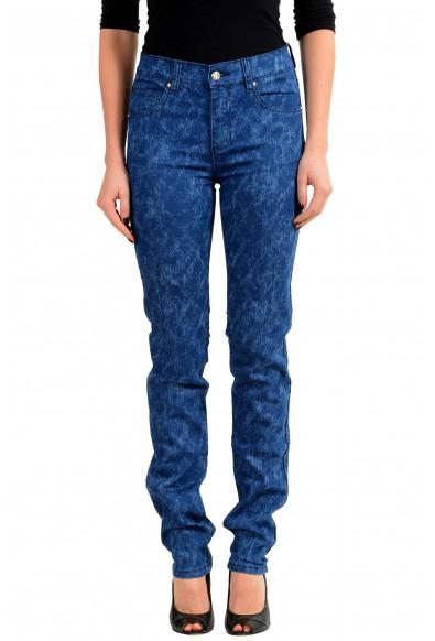 Versace Jeans Blue Slim Fit Women's Jeans