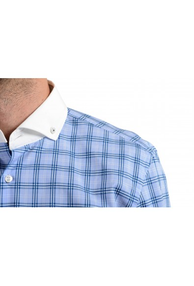 "Hugo Boss ""Jennis"" Men's Slim Plaid Multi-Color Long Sleeve Dress Shirt: Picture 2"