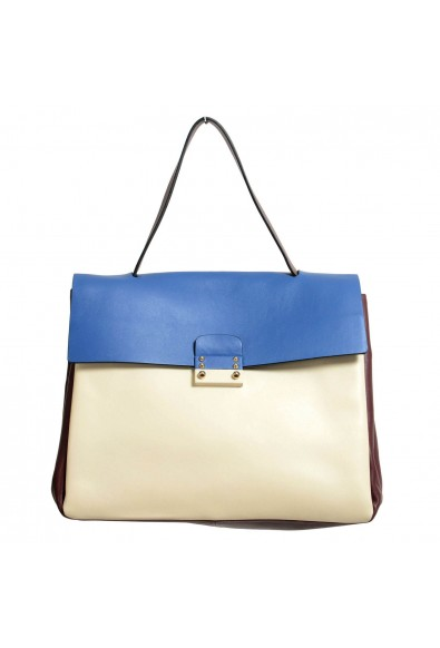 Valentino Garavani Women's Multi-Color 100% Leather Satchel Handbag Shoulder Bag