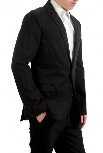 Dolce & Gabbana Men's Black Plaid Blazer Sport Coat: Picture 2