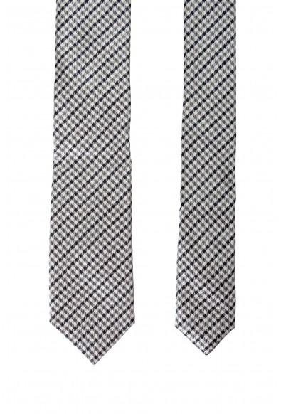 Hugo Boss Men's 100% Silk Plaid Tie: Picture 2
