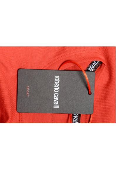 Roberto Cavalli Sport Women's Red Graphic Print Crewneck T-Shirt: Picture 2