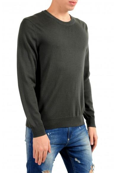 """Emporio Armani EA7 """"Ski"""" Men's 100% Wool Green Crewneck Sweater: Picture 2"""