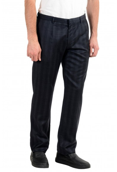 "Hugo Boss ""Heise"" Men's 100% Wool Plaid Dress Pants : Picture 2"