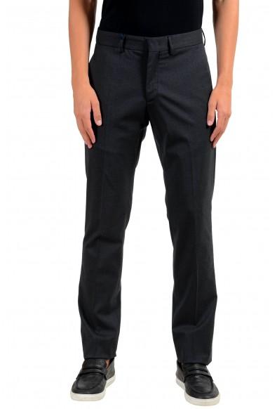 Moncler Men's Wool Charcoal Dress Pants