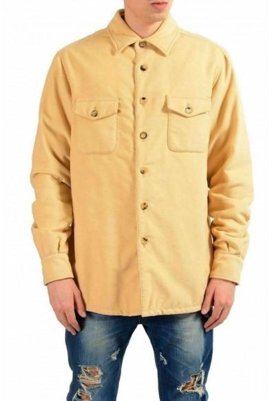 Malo Men's Beige Button Up Jacket