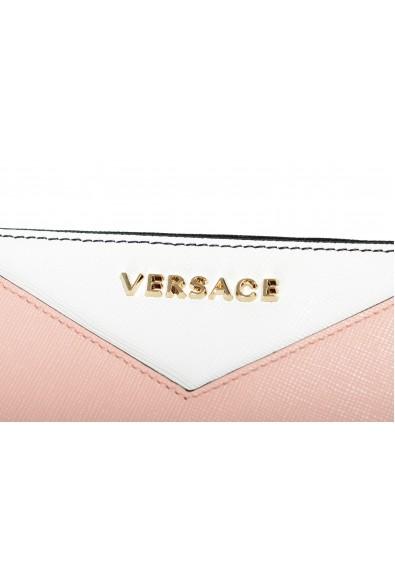Versace Women's Multi-Color Saffiano Leather Zip Around Wallet: Picture 2