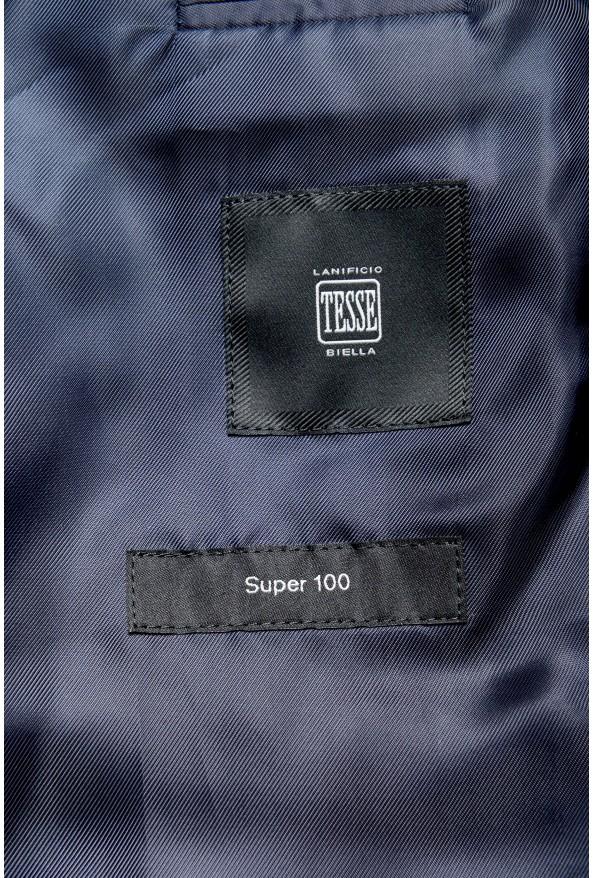 "Hugo Boss ""Johnstons2/Lenon"" Men's 100% Wool Blue Plaid Two Button Suit: Picture 12"