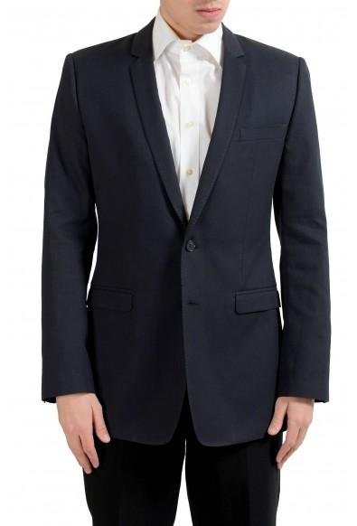 "Dolce & Gabbana ""Gold"" Men's Black Silk Blazer Sport Coat"