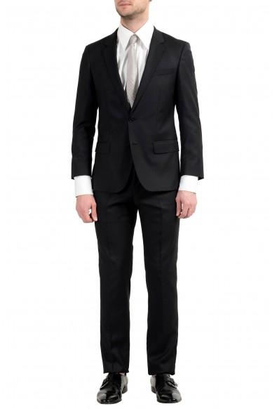 "Hugo Boss ""C-Hillmen/C-GordanA"" Men's Wool Black Two Button Suit"