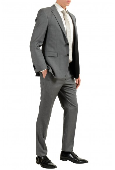 """Hugo Boss """"Inwood2/Winfield2"""" Men's 100% Wool Gray Two Button Suit: Picture 2"""