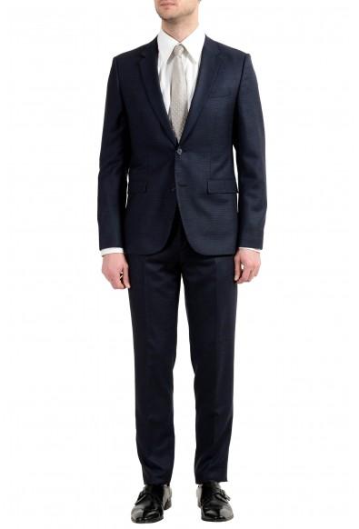 "Hugo Boss ""Astian/Hets"" Men's 100% Wool Two Button Suit"