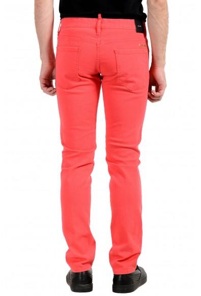 "Dsquared2 Men's ""Slim Jean"" Bright Pink Slim Jeans: Picture 2"