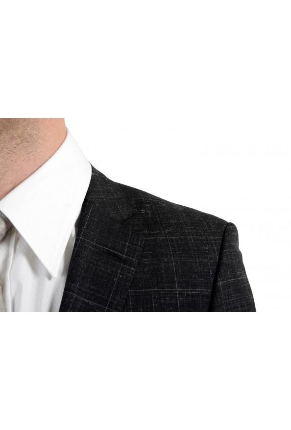 """Hugo Boss """"Huge6/Genius5"""" Men's Linen Silk Wool Slim Fit Gray Two Button Suit: Picture 8"""
