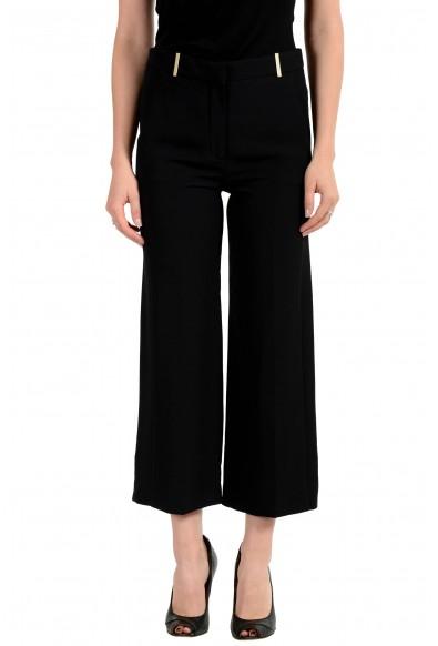 Versace Women's Black 100% Silk Pants