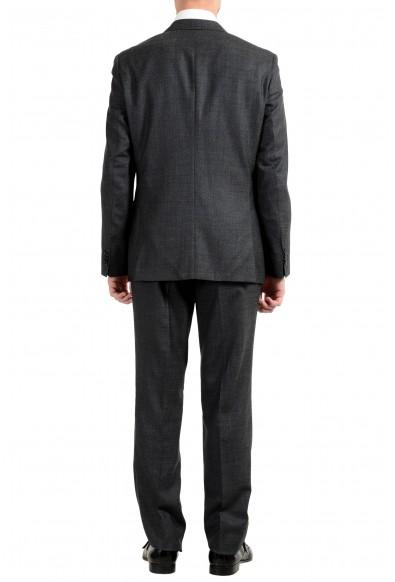 "Hugo Boss ""Jerron/Lenon1WE"" Men's 100% Wool Gray Two Button Suit: Picture 2"
