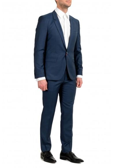 "Hugo Boss ""Arti/Hesten191E4"" Men's 100% Wool Extra Slim One Button Suit: Picture 2"