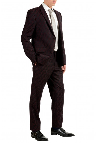 Versace Men's 100% Wool Two Tones Two Button Suit: Picture 2