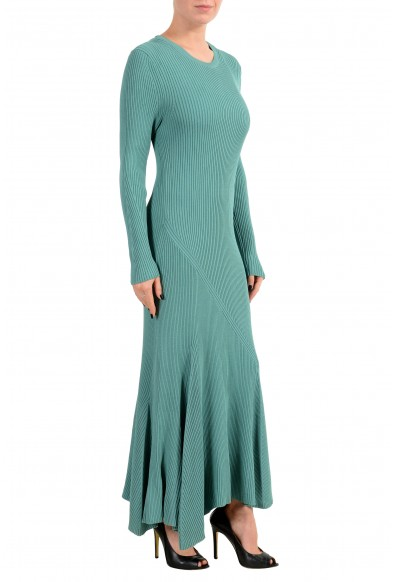 """Hugo Boss """"Fanah"""" Women's Knitted Ribbed Long Sleeve Maxi Dress : Picture 2"""