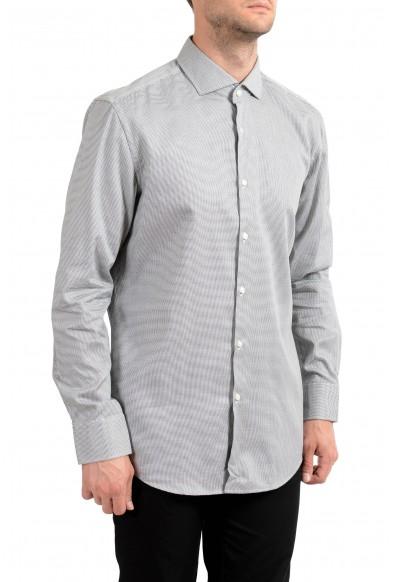 "Hugo Boss Men's ""Jery"" Slim Fit Plaid Long Sleeve Dress Shirt"