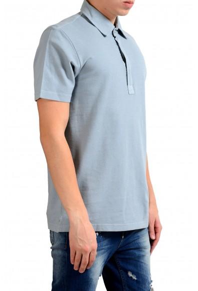 Malo Men's Light Gray Short Sleeve Polo Shirt: Picture 2