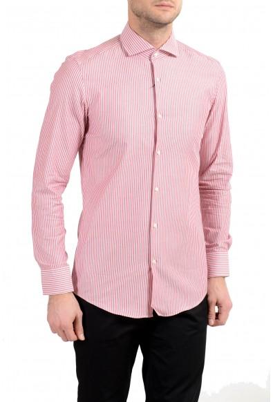 "Hugo Boss ""Jason"" Men's Striped Slim Long Sleeve Dress Shirt"