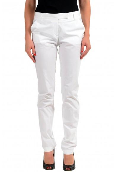Viktor & Rolf White Women's Casual Pants