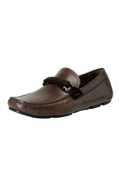 Salvatore Ferragamo Men's GRANPRIX Driving Moccasins Shoes