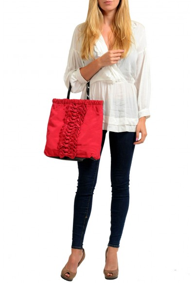 Red Valentino Women's True Red Bows Decorated Tote Shoulder Bag: Picture 2