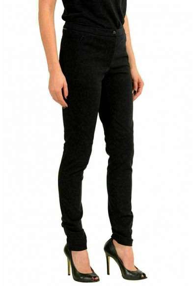 Moncler Women's Black Stretch Skinny Casual Pants: Picture 2