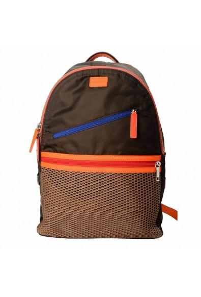 Dolce & Gabbana Multi-Color Men's Backpack Bag