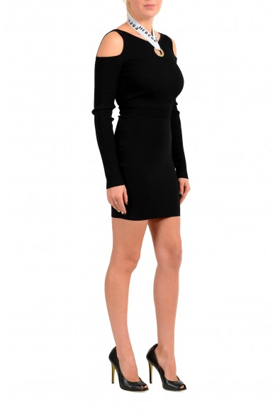 Versus by Versace Women's Black Stretch Bodycon Dress : Picture 2