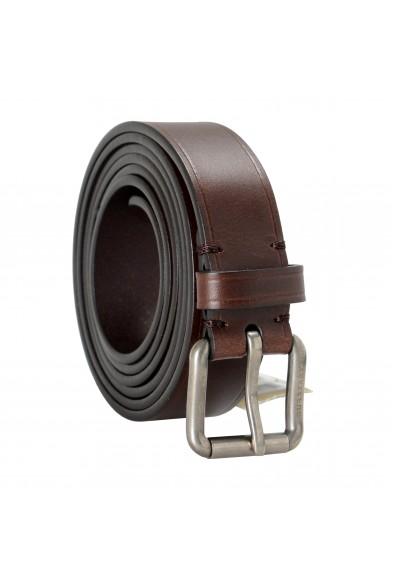 Burberry Men's Brown Leather Belt