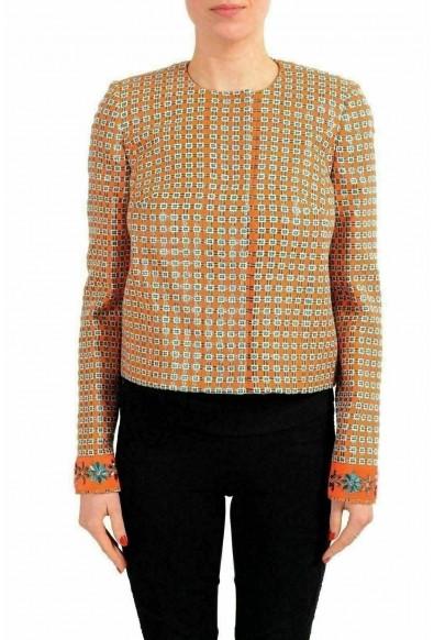 Just Cavalli Multi-Color Embellished Women's Basic Jacket