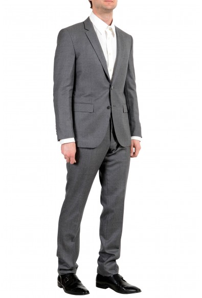 """Hugo Boss """"T-Harvers2/Glover1"""" Men's Silk Wool Gray Two Button Suit: Picture 2"""