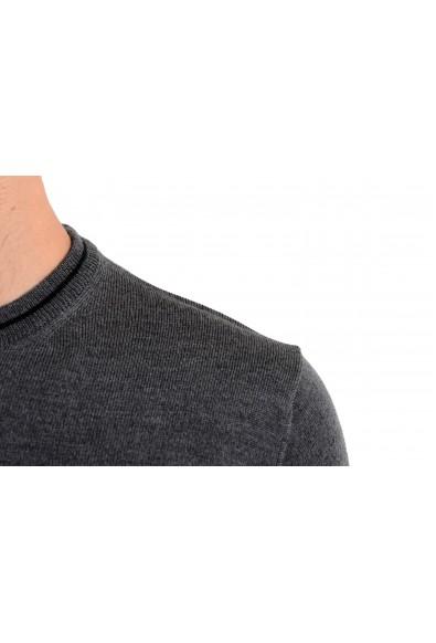Roberto Cavalli Men's 100% Wool Gray Crewneck Sweater: Picture 2